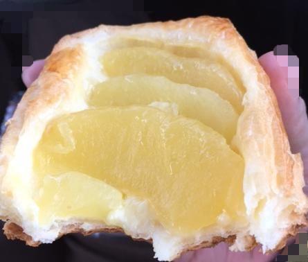 りんご&カスタードのデニッシュ(セブンイレブン)「りんごが超美味しい!」【感想・カロリー】