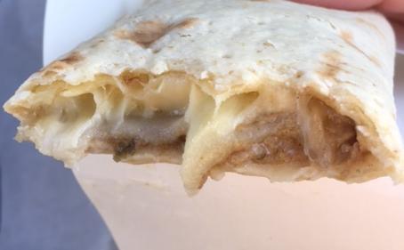 ブリトーお好みもちチーズを食べてみた「もちもち食感」【感想・カロリー】