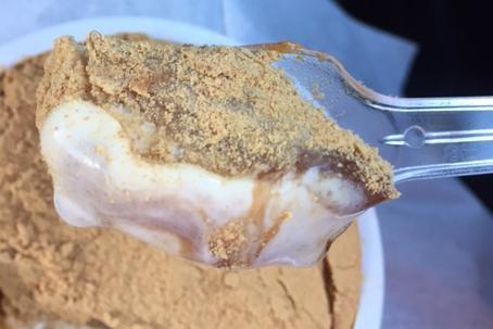 和もちアイス(ローソン)を食べてみた「きな粉と黒蜜が美味しい」【感想・カロリー】
