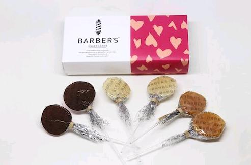 BARBER'S CRAFT CANDYからバレンタインデー限定商品が登場