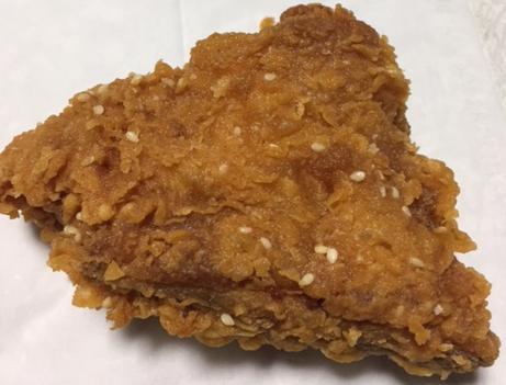 ケンタッキーの旨辛生姜チキンを食べてみた「ピリ辛でサクサク」【感想・カロリー】