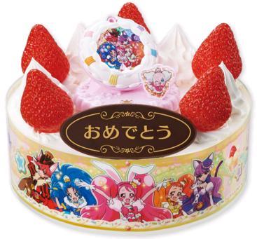キャラクターケーキで誕生日を祝おう!通販で買える?種類・価格・購入方法等