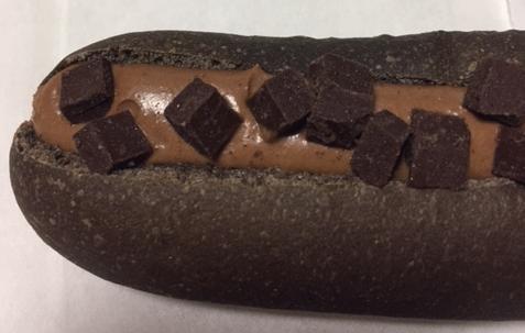 ショコラフランス(セブンイレブン)を食べてみた「チョコがたっぷり」【感想・カロリー】