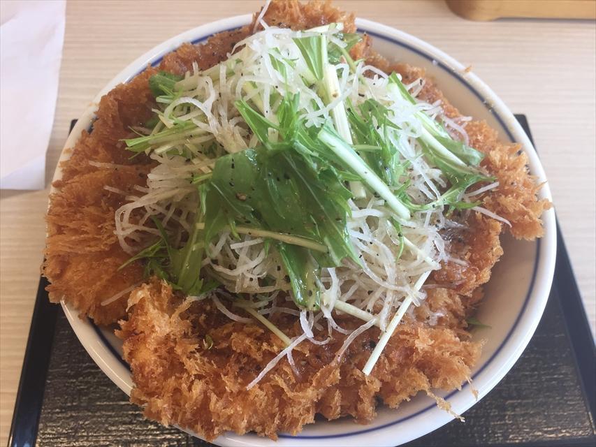 かつやのガツ盛り野菜のチキンカツ丼を食べてみた「あっさり塩味」【感想・カロリー】