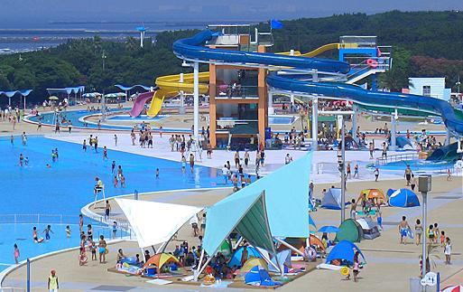 稲毛海浜公園プール(2019)|混雑状況や場所取り・駐車場等