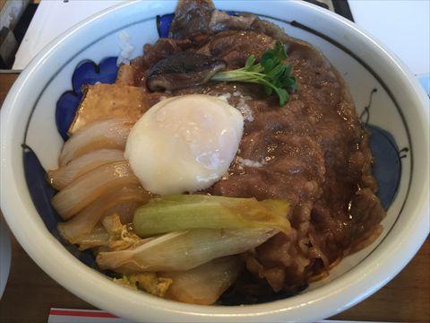 中州ちんやのランチ「すき焼丼」を食べてみた【感想】
