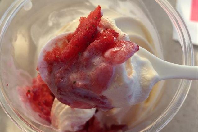 ハロハロ果実氷いちご(ミニストップ)を食べてみた【感想・カロリー】