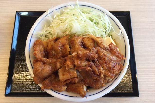 かつやの「ゆず七味から揚げ丼」を食べてみた【感想・カロリー】