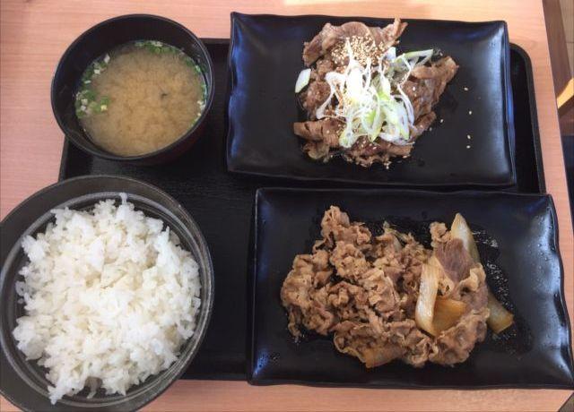 吉野家の「牛牛定食」を食べてみた「肉肉しくてボリューム満点」【感想・カロリー】