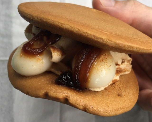 セブンイレブンの「黒蜜きな粉パンケーキどら」を食べてみた【感想・カロリー】