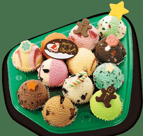 31(サーティワン)のクリスマスアイスケーキ2018|種類・予約特典・価格等