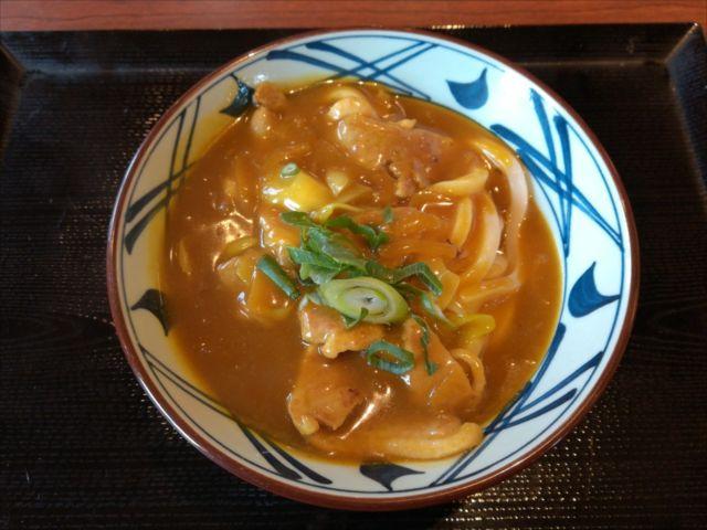 丸亀製麺の「鴨カレー南蛮」を食べてみた【感想・カロリー】