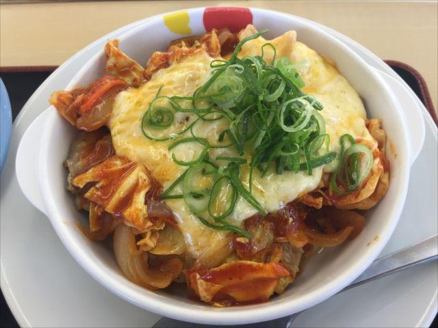 チーズタッカルビ定食(松屋)を食べてみた【感想・カロリー】