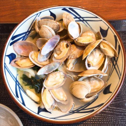 丸亀製麺の「あさりバターうどん(2018)」を食べてみた【感想・カロリー】