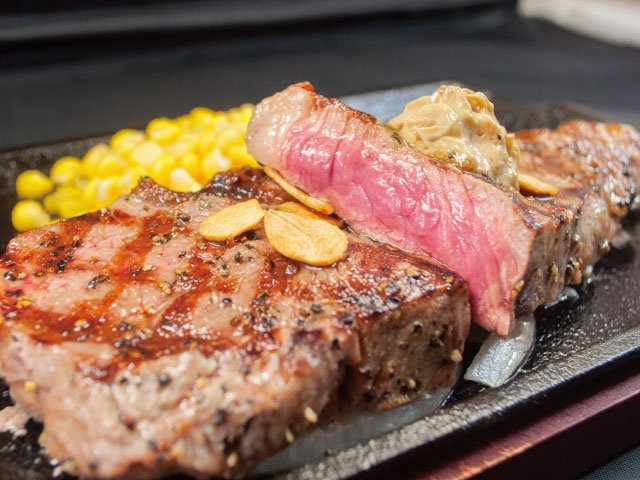 【いきなりステーキ】メニュー・値段・カロリー等「ランチは17時まで」