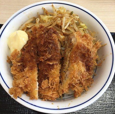 かつやの「スタミナ炒めとチキンカツ丼」を食べてみた【感想・カロリー等】
