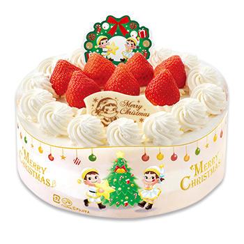 不二家のクリスマスケーキ2020|種類・予約期限・特典等